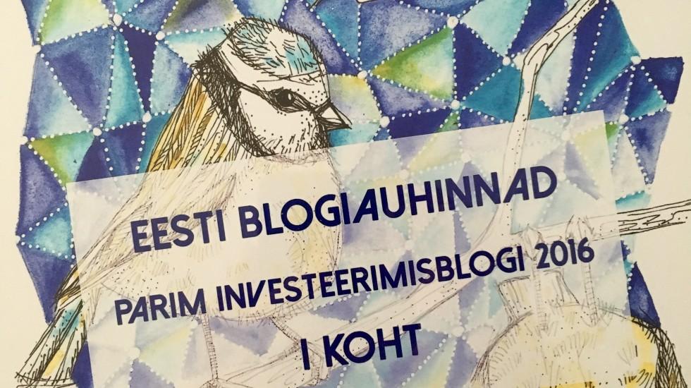 22. loo pilt Parim Investeerimisblogi